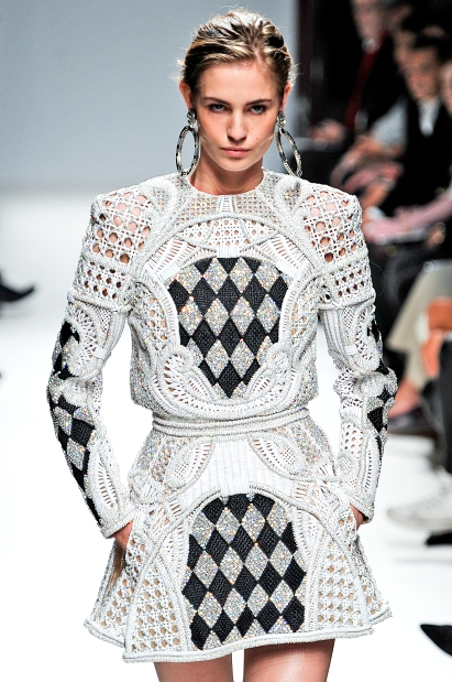 Balmain RTW Spring Summer 2013 Paris Fashion Week September 2012