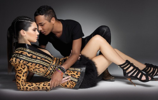 kendall-jenner-and-olivier-rousteing-in-balmain-for-sunday-times-style